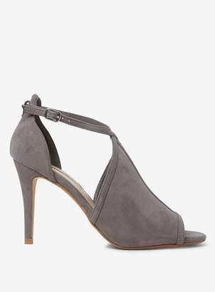 Dorothy Perkins Womens Grey 'Briana' Coverage Sandals