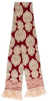 DKNY Printed Silk Scarf