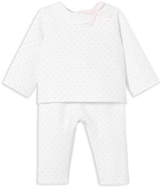 Jacadi Girls' Polka Dot-Print Top & Pants Set - Baby