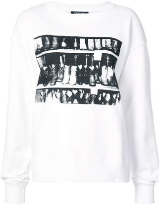 Calvin Klein (カルバン クライン) - Calvin Klein 205W39nyc プリント スウェットシャツ