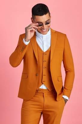 boohoo Skinny Fit Plain Suit Jacket