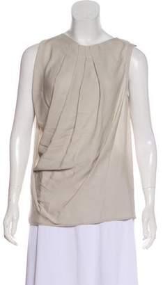 Yigal Azrouel Silk Sleeveless Top