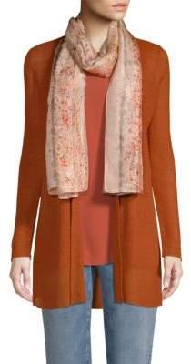 Eileen Fisher Silk Splatter Scarf