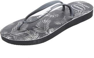 Havaianas We Are Handsome Slim Flip Flops $34 thestylecure.com