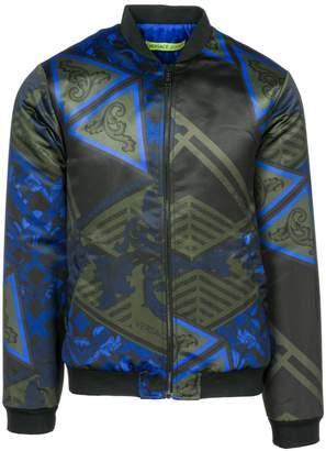 Versace men's outerwear jacket blouson US size C1GSB920 S0479