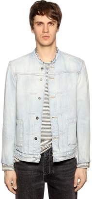 Levi's Washed Denim Jacket W/ Raw Cut Edges