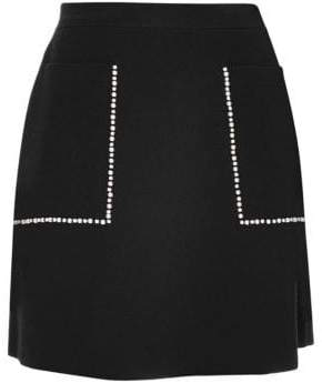Sandro Louis Mini Skater Skirt