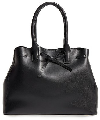 Sole Society Layton Faux Leather Satchel - Black $59.95 thestylecure.com