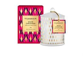 Glasshouse Fragrances White Christmas Triple Scented 350G Candle