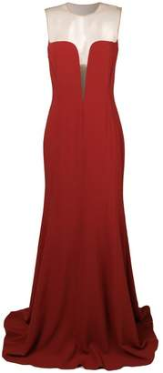 Stella McCartney sheer panel evening dress