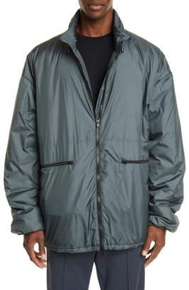 Maison Margiela Oversize Nylon Hooded Jacket