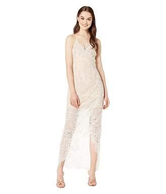 WAYF Gwen Lace Wrap Maxi Dress