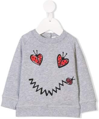 Stella McCartney smiley ladybird printed sweatshirt