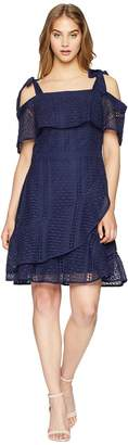 Adelyn Rae Maxine Fit and Flare Dress Women's Dress