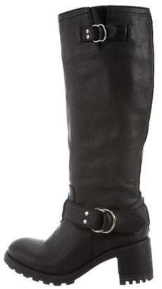Diesel Leather Riding Boots