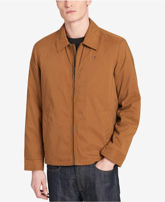 Tommy Hilfiger Men's Big & Tall Classic Full-Zip Micro-Twill Jacket