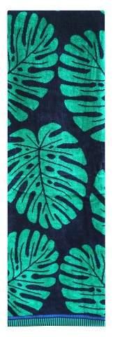 XL Leaf Beach Towel Clover