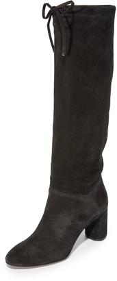 Casadei Suede Boots $920 thestylecure.com