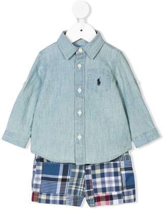 Ralph Lauren two piece shorts set