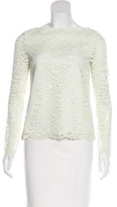 Tory Burch Long Sleeve Lace Top w/ Tags