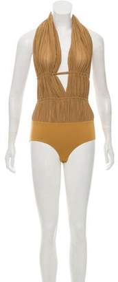 Barbara Bui Summer 2011 Silk Bodysuit