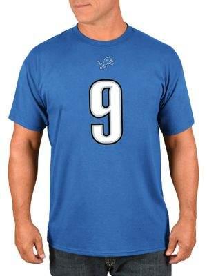 Majestic Matthew Stafford Detroit Lions NFL Eligible Receiver III Cotton Tee