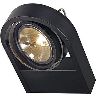 SLV 159000 SLV AIXLIGHT R WALL QRB111 wall light round black QRB111 max. 1x50W, Aluminium, black