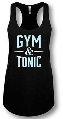 "LA Imprints"" Gym & Tonic Ladies' Racerback Tank Top"