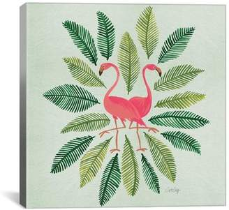 Flamingos Bay Isle Home 'Flamingos' Graphic Art Print