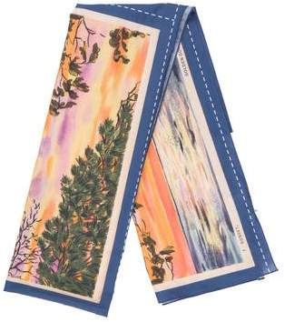 Golden Goose Printed Square Scarf
