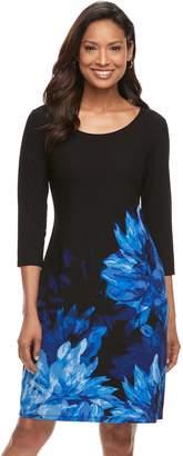 Dana Buchman Women's Scoopneck Shift Dress