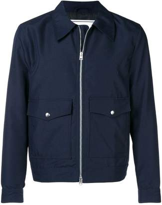 Ami Alexandre Mattiussi Patch Pockets Zipped Jacket