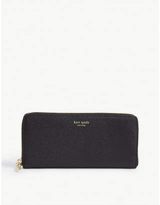Kate Spade Margaux Lindsey grained leather wallet