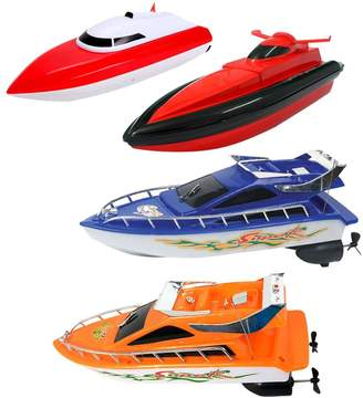 Chinatera Remote Control RC Super Mini Speed Boat High Performance Boat Toy Kids Preschool Educational Toys