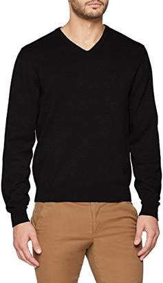 Casa Moda Men's V-Neck Pullover with Long Sleeve,(Manufacturer size:4XL)