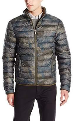 Calvin Klein Jeans Men's Camo Print Puffer Jacket