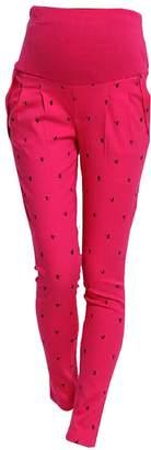 KINDOYO Pregnant Women Abdominal Pants Maternity High Elastic Trousers Belly Leggings