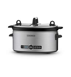 KitchenAid Ksc6222 Stainless Slow Cooker