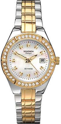 Sekonda Classique Ladies' Two-Tone Bracelet Watch