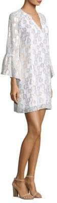Lilly Pulitzer Matilda Tunic Bell-Sleeve Dress