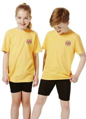 F&F Unisex Embroidered School T-Shirt 13-14 yrs