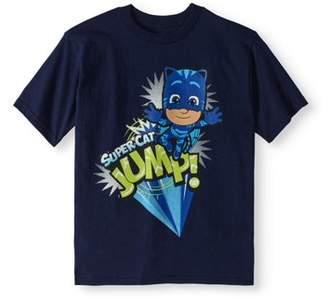 PJ Masks Boys' Super Cat Jump T-Shirt