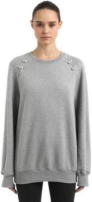 Deneb Oversized Sweatshirt W/ Piercings