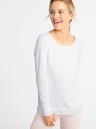 00511970ce7 Old Navy Relaxed French-Terry Keyhole-Back Sweatshirt for Women