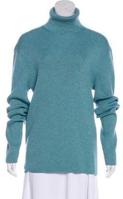Gucci Metallic Turtleneck Sweater