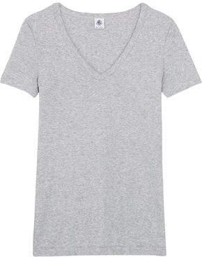Petit Bateau Mélange Cotton-Jersey T-Shirt