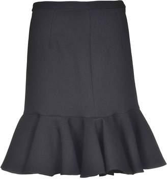 Giambattista Valli Peplum Hem Skirt
