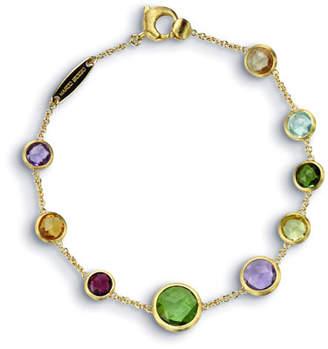 "Marco Bicego Jaipur 18K Gold Mixed Semiprecious Stone Bracelet, 7"""