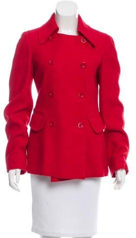 Miu MiuMiu Miu Wool Double-Breasted Coat
