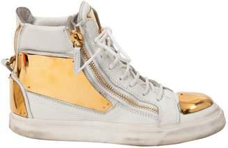 Giuseppe Zanotti Leather trainers